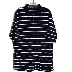 POLO BY RALPH LAUREN POLO SHIRT HIGH-LOW